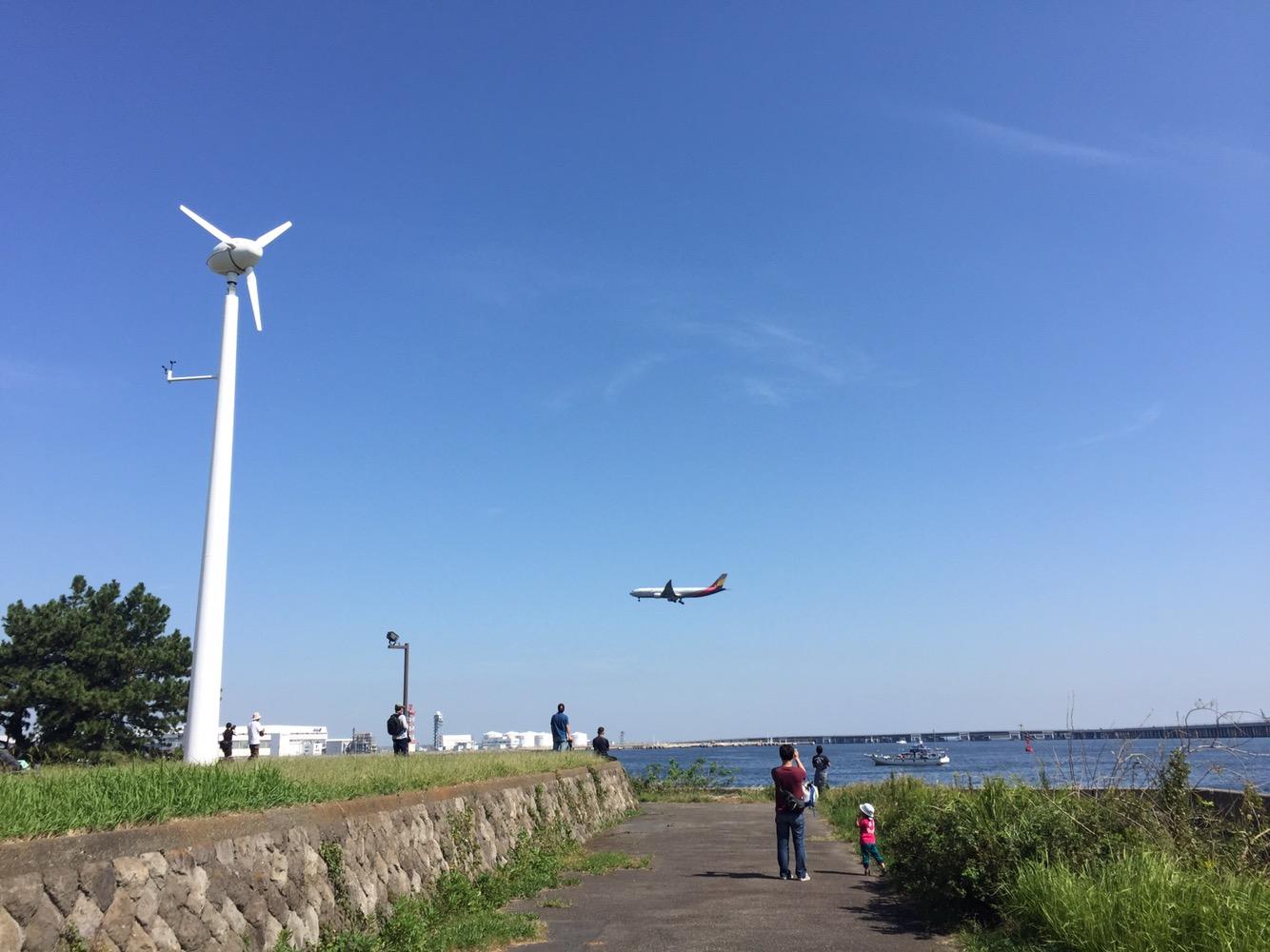 シン・ゴジラ爆地巡礼!羽田沖から多摩川河口へ