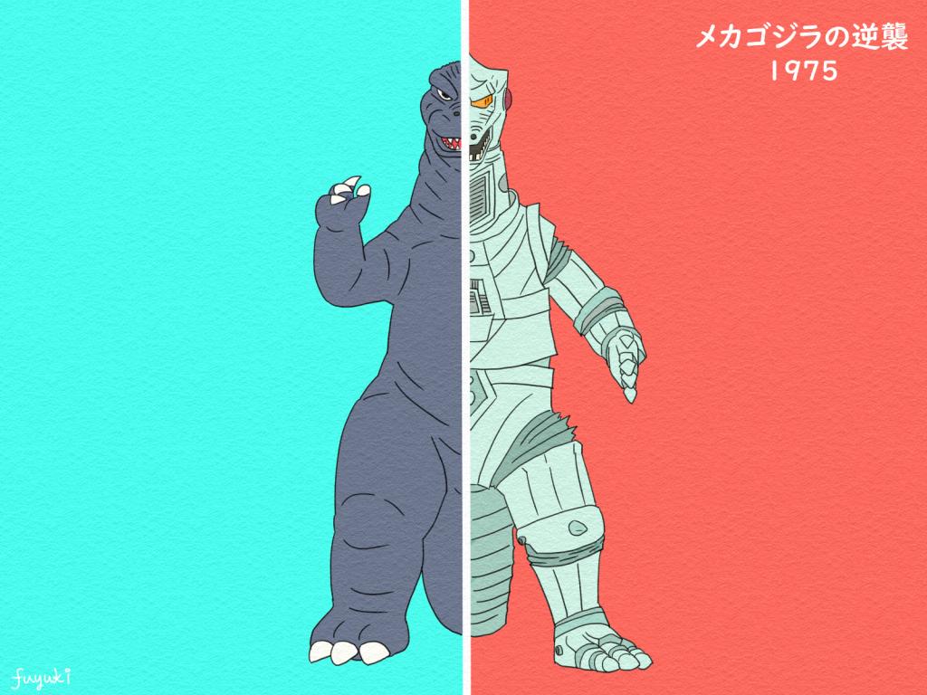 「メカゴジラの逆襲」メカゴジラ復活!ゴジラとの対決再び…